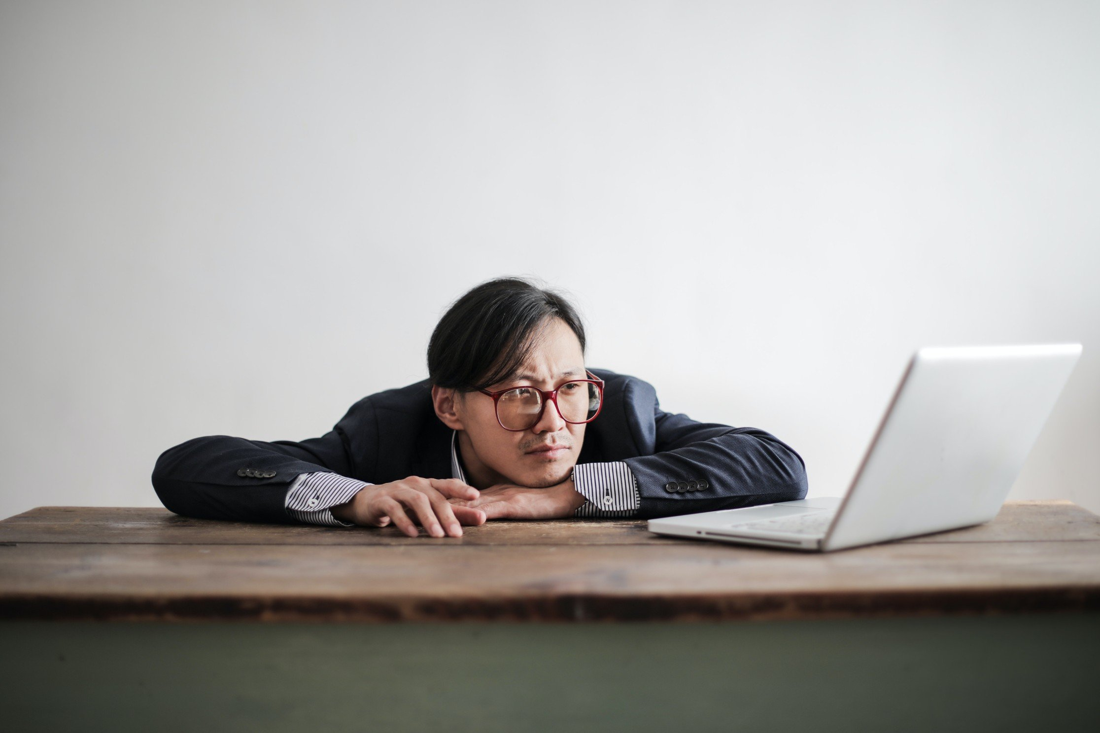 A remote worker that has suffered the adverse effects of micromanaging