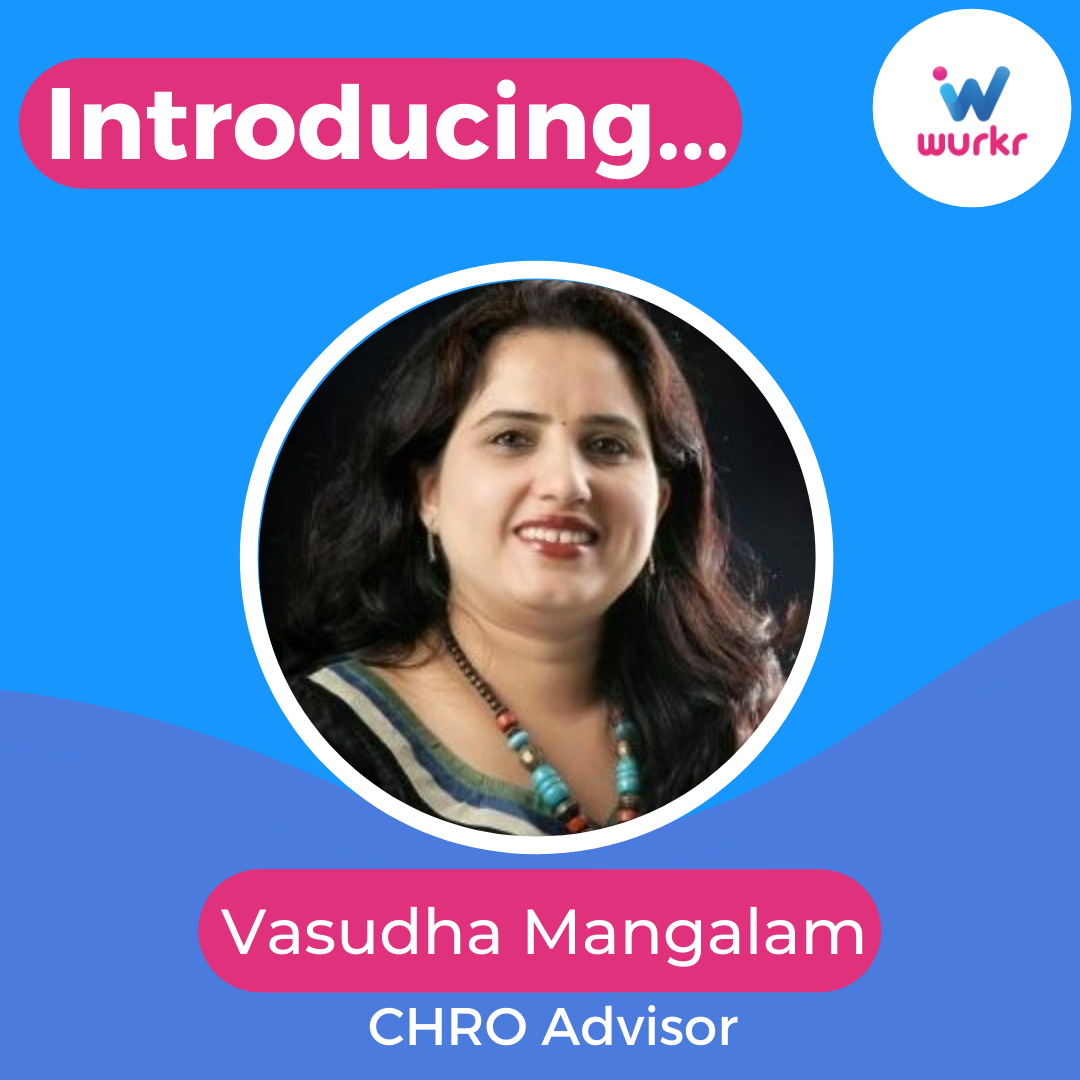 London, 13 August 2021 – Wurkr, the UK and India-based SaaS platform that enables teams to work together from anywhere in an immersive virtual workspace, has welcomed Vasudha Mangalam as their new Advising CHRO.